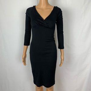 Diane Von Furstenberg DVF LBD Little Black Dress 0